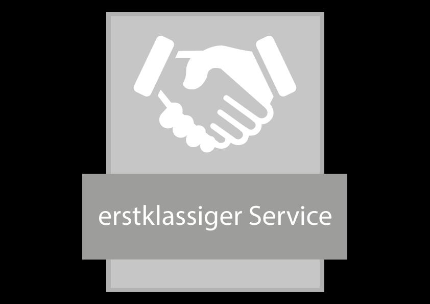 erstklassiger-Service-Siegel